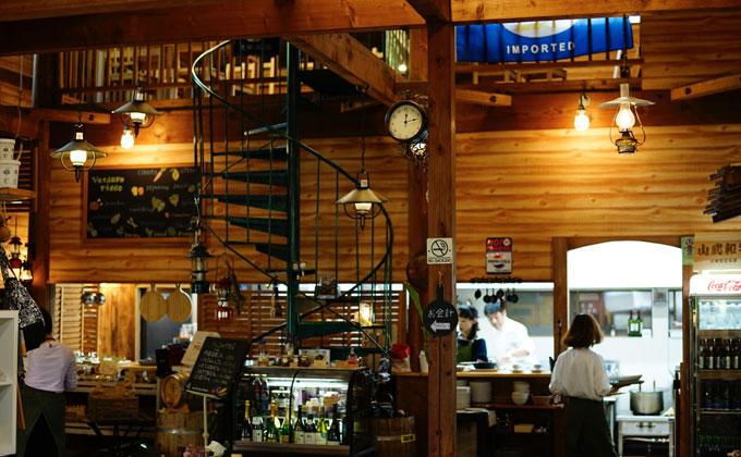 有野実苑オートキャンプ場 農園リストラン、テ・ヴェルデューレ リッコ